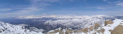 至仏山頂から
